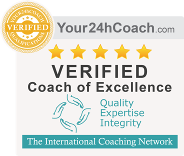 Your24hCoach.com Verified Coach of Excellence Quality Expertise Integrity. The International Coaching Network